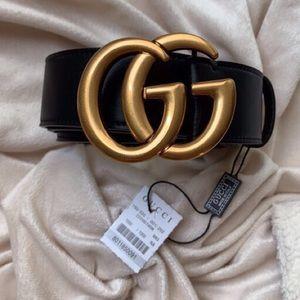 ĮNew Gucci Belt Àùthėntìć Double GG Marmot
